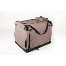Hundebox BRAUN, Hunde Transportbox COOL PET PLUS 9 Größen
