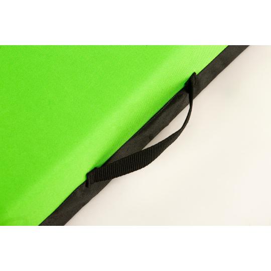 Matratze mit abnehmbarem Bezug  Oxford Textilien neon grün 4XL 120x80cm 10cm hoch
