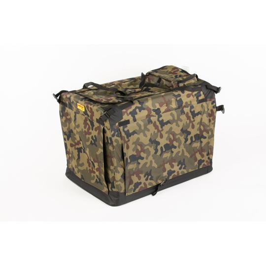 Zusammenklappbare Transportbox COOL PET PLUS XL camouflage Farbe bei Sonderanfertigung,  (82 x 59 x 59 cm)