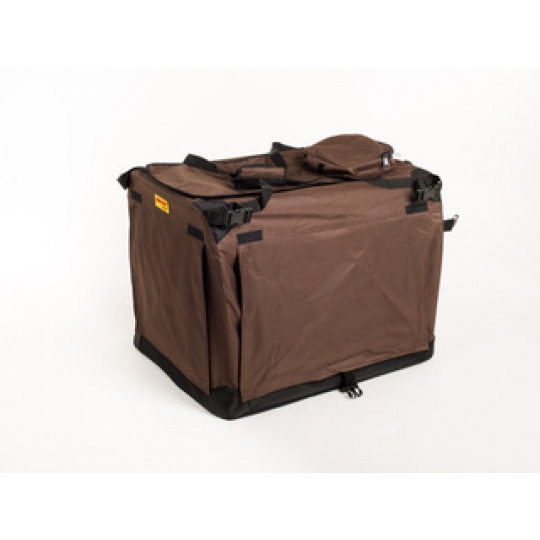 MAXI BOX 140 x 90 x 110 cm braun, Hunde Transportbox
