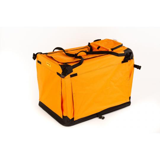 Hundebox 5XL 122*79*99cm orange COOL PET PLUS