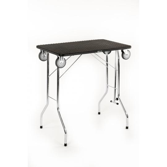 Trimmtisch Schertisch Haustierpflegetisch faltbar mit Räder
