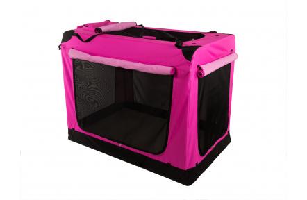 Zusammenklappbare Transportbox COOL PET PLUS - wählen Sie Ihre Farbe S - wählen Sie Ihre Farbe (49,5 x 34,5 x 35 cm)