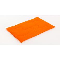 Matte aus Baumwolle orange 68*44cm